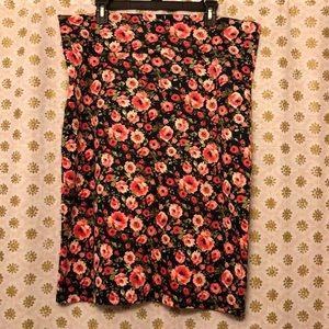 Agnes & Dora Skirts - Size XXL Agnes & Dora floral pencil skirt. EUC